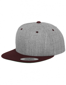 Heather Grey / Maroon