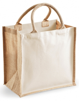 Westford Mill - Printers Midi Jute Bag
