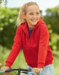 Fruit of the Loom - Premium Hooded Sweat Jacket Kids
